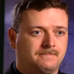 Doug Williamson during a Forensic Files taping